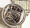 Значок брошка пін собака порода шпіц рудий метал емаль, фото 5
