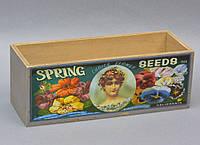 Декоративный деревянный ящик  FF285-1