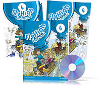Fly High 4, Pupil's book + Activity Book + CD + Fun Grammar