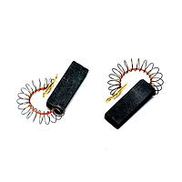 Щетки угольные 5*12,5*35 цельные, провод по центру с пружинкой SKL для стиральной машины