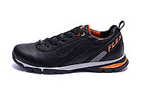 Мужские кожаные кроссовки Nike Flex Zone (реплика)
