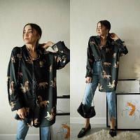 Женское   платье-рубашка  норма и батал новинка 2021