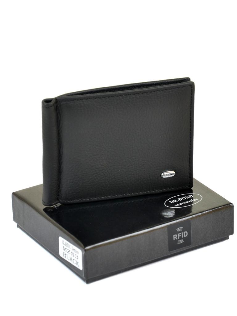 Кошелек Classic кожа DR. BOND RFID MZS-3 black