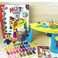 Набор для творчества Пластилин, детский столик для лепки