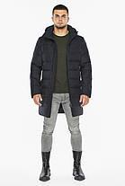 Темно-синяя куртка зимняя для мужчин модель 42110, фото 3