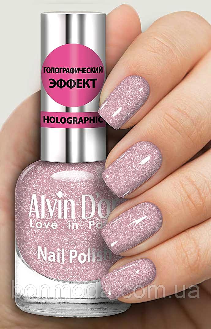 Лак для ногтей Alvin D`or Голографический № 717
