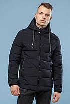 Мужская теплая куртка черная на зиму модель 6009, фото 3