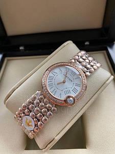 Женские наручные часы Картье Баллон Бланк дэ Картье Люкс копия