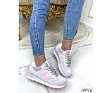 Кроссовки замшевые, фото 3