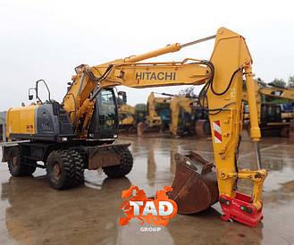 Колісний екскаватор Hitachi ZX 190 W (2012 р)