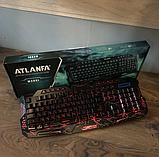 Профессиональная игровая клавиатура  LED ATLANFA M200, фото 5