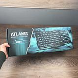 Профессиональная игровая клавиатура  LED ATLANFA M200, фото 7