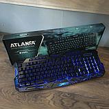 Профессиональная игровая клавиатура  LED ATLANFA M200, фото 8