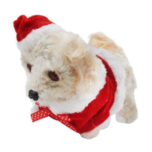 """Іграшка """"Собачка Санта"""", бежевий 427-8"""