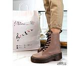 Шкіряні черевики Dr. Martens, фото 2