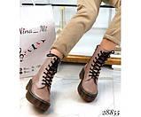 Шкіряні черевики Dr. Martens, фото 3