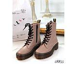 Шкіряні черевики Dr. Martens, фото 4