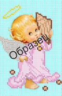 Схема для вышивки бисером «Ангел с ракушкой»