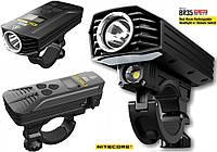 Мощная велосипедная фара NITECORE BR35+Пульт (1800LM, 6800mAh, Cree XM-L2 U2, OLED, micro USB, IPX7) Оригинал