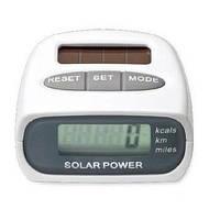 Шагомер на солнечной батареи Solar Pedometer HY-02T