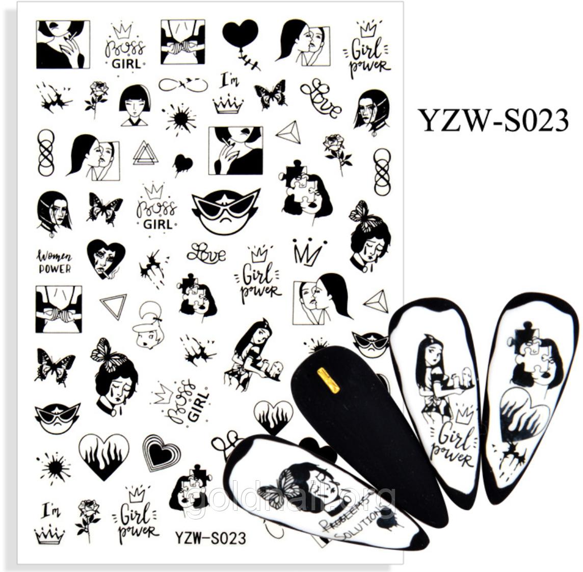 Слайдер для дизайну нігтів YZW-S023