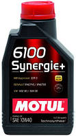 Специальное моторное масло Motul (Мотюль) 6100 Synergie+ 10W40 1л.