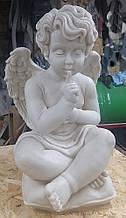 Скульптура ангела из мрамора № 477