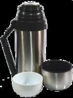 Термос комбинированный еда, чай HGS 0,6, посуда для туриста , качество и удобство