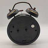 """Часы-будильник """"Винтажные"""" настольные, диаметр 10 см, фото 3"""