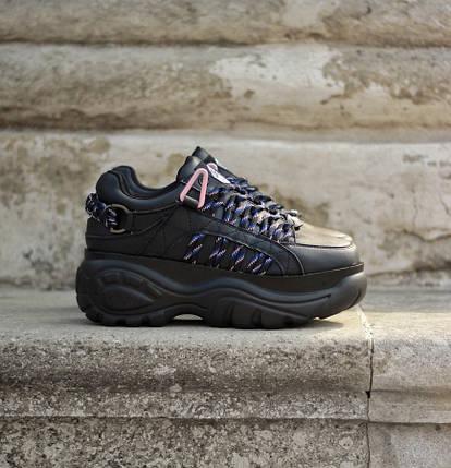 Женские кроссовки Buffalo London Black, фото 2