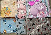 Детское постельное сменное белье в кроватку, манеж 3 в 1, наволочка, пододеяльник, простынь на резинке