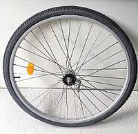 """Заднее велосипедное колесо в сборе 28"""" усиленные спицы 3мм"""