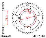 Звезда задняя стальная JT Sprockets JT JTR1080.39, фото 2