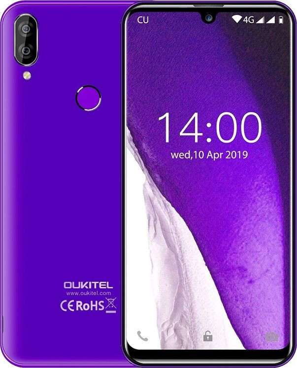 Смартфон Oukitel C16 Pro 3/32GB Purple