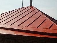 Покраска крыши дома ВИДЕО