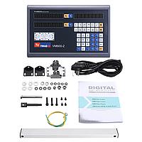 Пристрій цифрової індикації Yihao 2 осі 5 вольт LED дисплей VM600-2, фото 1
