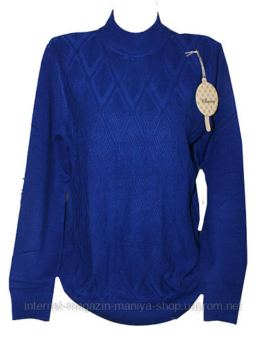 Женский свитер полубатал