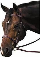 Классическая уздечка, для лошади, пони
