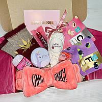 "Подарочный бокс для девушки Wow Boxes ""Бьюти бокс №1"""