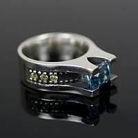 Обручальное серебряное кольцо от WickerRing
