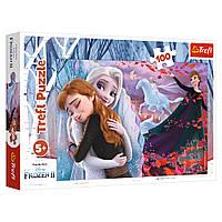 """Пазл """"Крижане серце-2. Назавжди разом"""", 100 елементів Trefl Disney Frozen 2 (5900511163995)"""