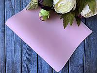 Винил матовый бархатистый 0,7 мм, 20 х 34 см, 10 листов/уп., нежно-розового, фото 1