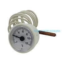 Термометр Imit, Arti Ø 37mm 0/120 капиляр 1000 mm