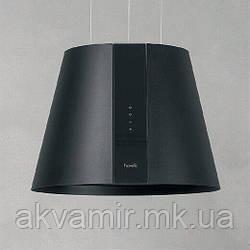 Витяжка для кухні Fabiano Lillum Black (чорна) острівна