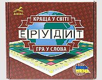 Игра Arial Эрудит (Скрабл, Scrabble) (4820059910107)