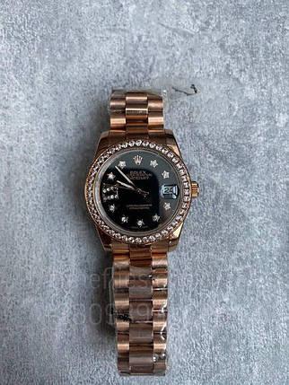 Наручные часы Ролекс Дэйджаст Комбайнд Даймондс Старс Люкс копия, фото 2