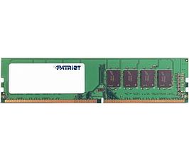 Память SO-DIMM, DDR4, 8Gb, 2400 MHz, Patriot, 1.2V, CL16 (PSD48G240081S)