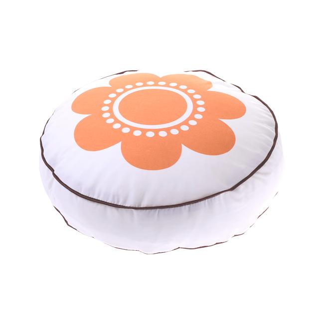 Cotton Living - Подушка круглая Flower Coral.