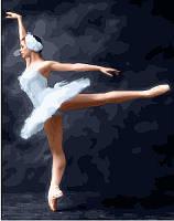 """Картина по номерам. Rainbow Art """"Магия балета"""" GX23013-RA"""