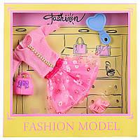 Одежда для кукол 8810C (1956929) (120шт|2) платье,обувь,аксессуары, в коробке 23*3*23 см